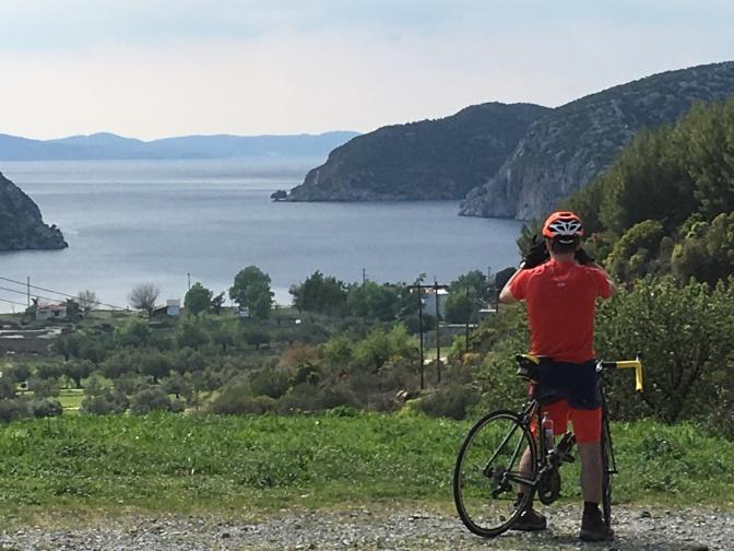 Halkidiki cu bicicleta 2018. Arunca o privire la poze si incearca sa te opui…)